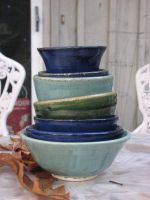 Stack of Bowls by Potterycat