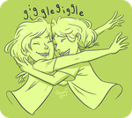 Giggle Sisters by Akogare