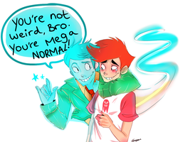 MEGA NORMAL! :Dude, That's My Ghost!: by Bippie