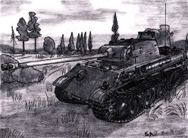 Pz.Kpfw. V Panther by TimSlorsky