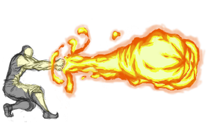 Firebending Double Fisted by moptop4000