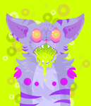Acid Cat Redux by Coloursfall