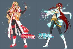 Milo and Camus for Vocaloid by couya