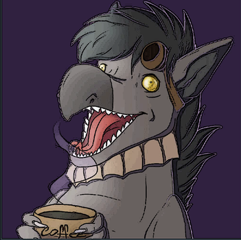 Xaivior High On Coffee by hypebender