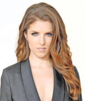 Photomanipulation - Anna Kendrick by n0ave