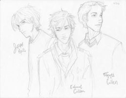The Cullen Boys by burdge