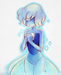 Blue Diamond's Pearl by Phoelion