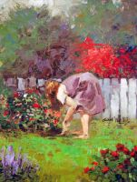 Tending the Garden by rooze23