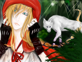 Red Riding Hood by Elizabetha1700