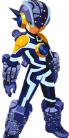 Vector - Bug Style Mega Man by TaerkEX
