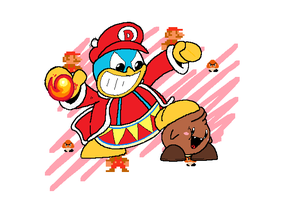 Super Dedede Bro by thegreenspark