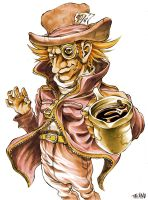 Mad Hatter by takamodraws