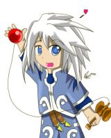 Genis for Chibi-Rinku by yohfan