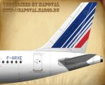 Airbus tail by powervectors