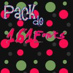 Pack de 161 Fonts by Fernando-Things