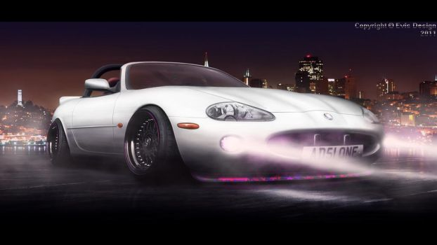 JAG XKR by evisdesign