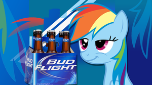 What Do Ponies Drink? - Rainbow Dash by 4Suit