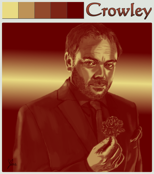 SPNCrowley by devilstoy01