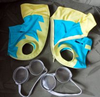 Wonderbolt cadet suits for plushies by Rens-twin