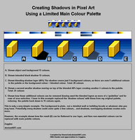 Creating Shadows in PixelArt by ShoneGold