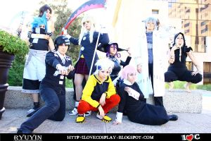 Soul Eater Group by Kim-Y