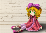 Rozen Maiden - Hina Ichigo (colored) by Kudo008