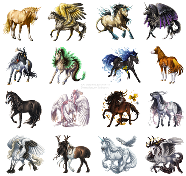 Pixel commishes by BronzeHalo