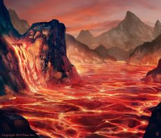 Molten Pool by Nemanja-S