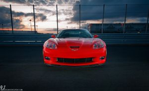 Corvette C6 Z06 - Front fence by dejz0r