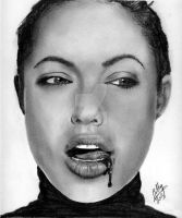 Jolie Pencil Series I by Bobby-Sandhu