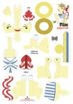 Flim Papercraft Pattern by Kna