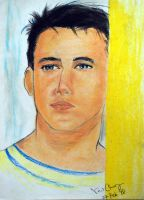 Oil Pastel - Portraits by naugthy-devil