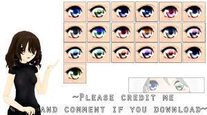 MMD Eyes texture [2] DL by ElviraMoa