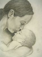 Mother and Child by angelfalls714