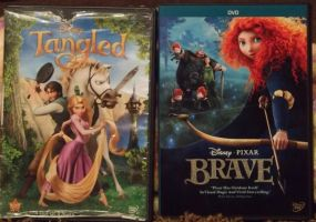 Tangled vs. Brave ( Which do you think is Better?) by x12Rapunzelx