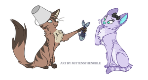 Cats by MittensTheNoble