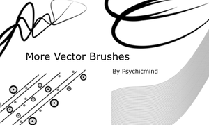 More Vector Brushes by psychicmind