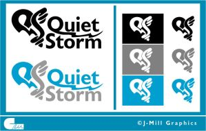 Quiet Storm Logo by jmillgraphics