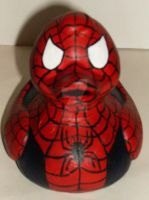 Spiderman Duck by BlueSaltwaterTaffy