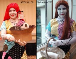 Sally Cosplay Improvement by no-role-model