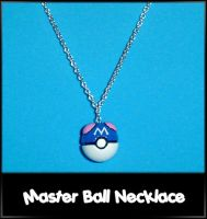 Master Ball Necklace Charm by YellerCrakka