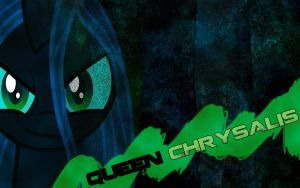 A Wallpaper for Queen Chrysalis by CrystaHedgefox444