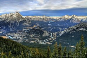 Banff and the Canadian Rockies by La-Vita-a-Bella
