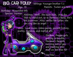 BIO: Cari Foley by Windstorm1