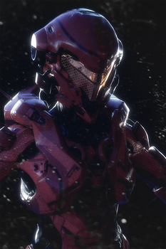 Halo 5 Spartan Vale commission v2 of 2 by katmachiavelli