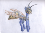 Darkhammer's wasp disguise by Tuccsok