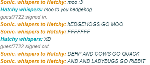 Normal iScribble Chats by L3M0NL1M3
