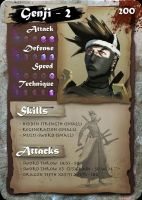 "SamGen card - ""Genji - lvl 2"" by dinmoney"