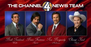 Anchorman: Channel 4 News Team by JasonOrtiz