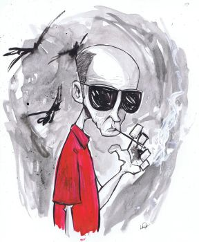 Hunter S. Thompson by NickPalazzo